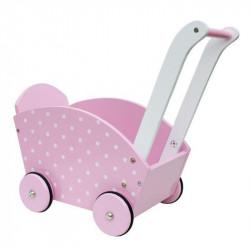 Drewniany wózek dla lalek...