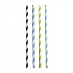 Słomki-zestaw blue