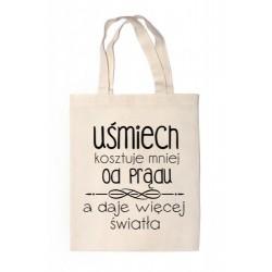"""Shopper """"UŚMIECH KOSZTUJE..."""