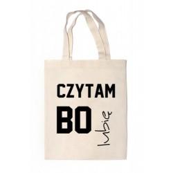"""Shopper """"CZYTAM BO LUBIĘ"""""""