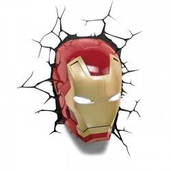 Marvel 3D LED Leuchte Iron Man