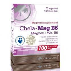 Chela-Mag B6 60 kaps.