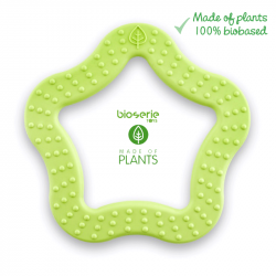 Bioserie Teether Star Lime...