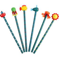 Ołówki Przyjaciele z morza