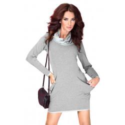 Golf - sukienka z dużymi...