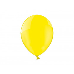 Balony 23cm, Crystal Yellow...