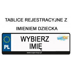 TABLICA REJESTRACYJNA DO...